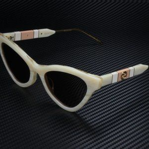 Gucci Beige 55mm Sunglasses